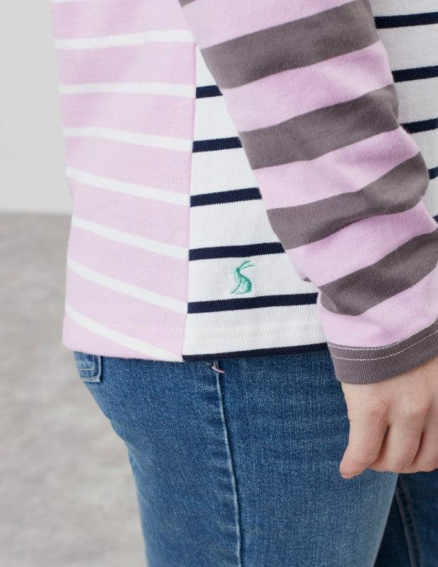 Joules Harbour Long Sleeve Striped Jersey Top