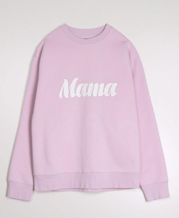 "Brunette the Label ""MAMA' Crew - lavender"