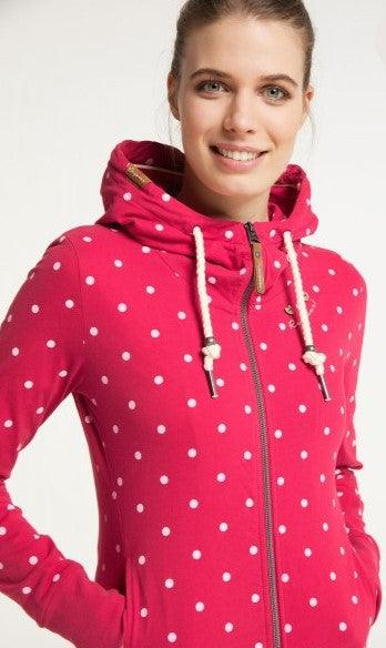 Ragwear Paya dots - red