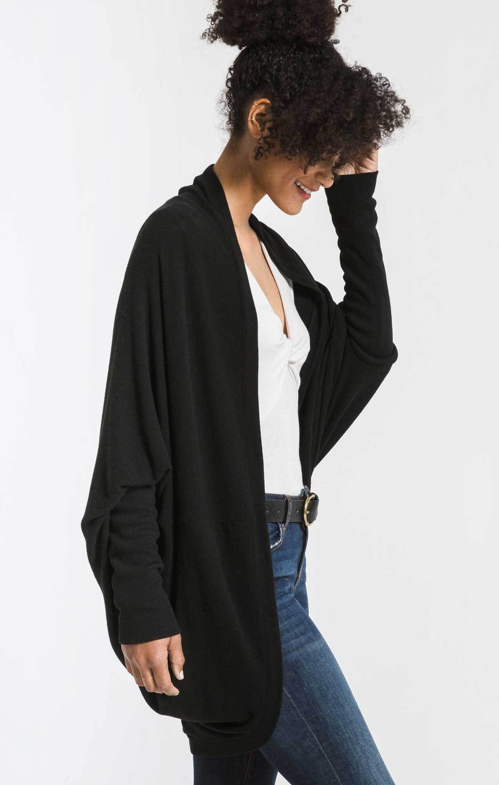 Z Supply Black Cacoon Cardi
