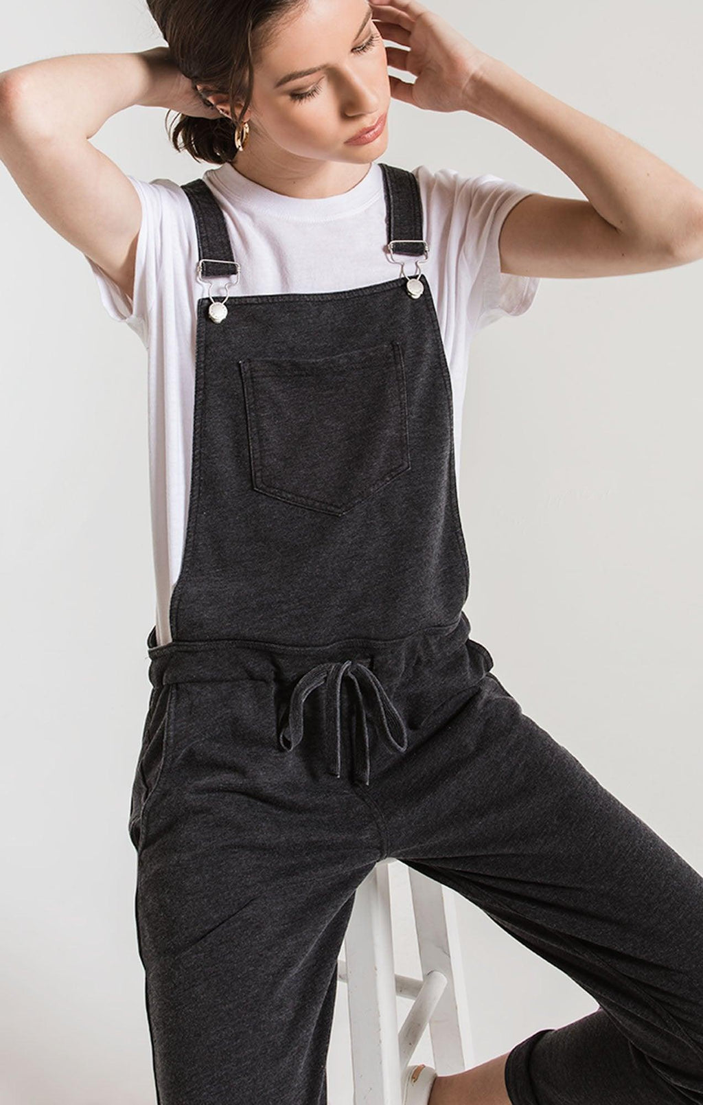 Z SUPPLY black overalls