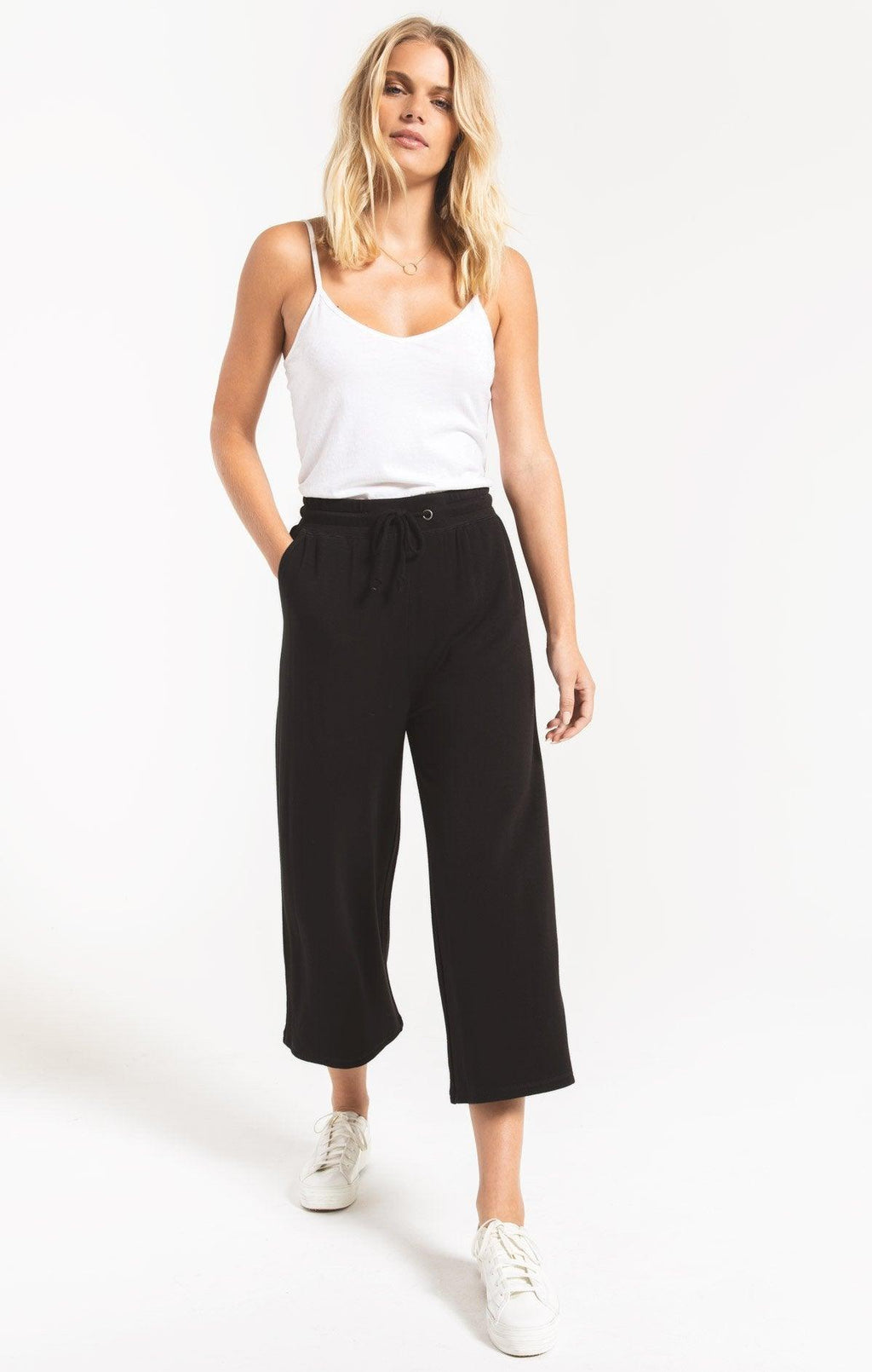 Z Supply black premium cropped pant