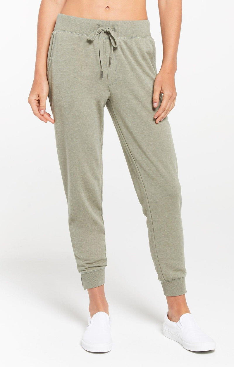 Z Supply Cypress Loop Terry Jogger - Meadow Green