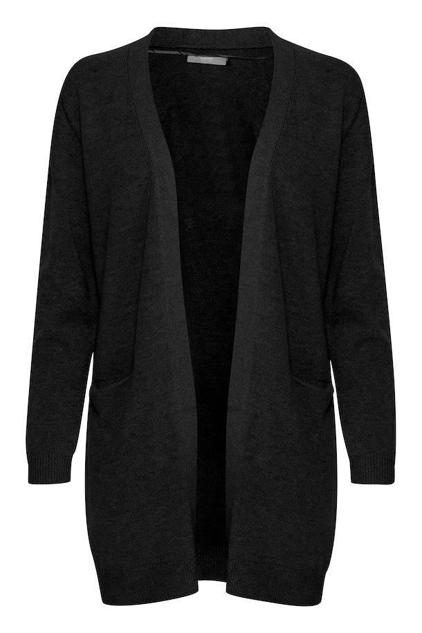 B Young black knitted cardigan