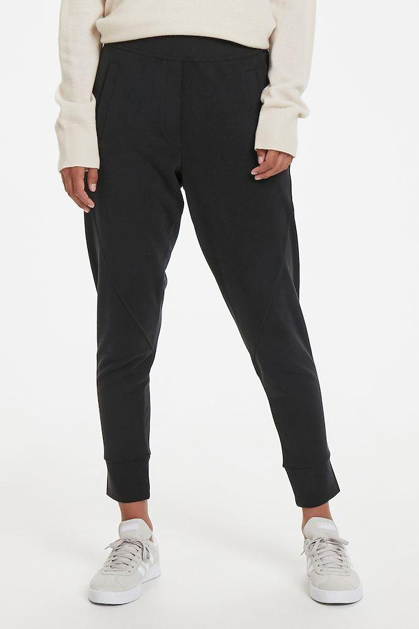 Part Two black easy fit pull-on pants