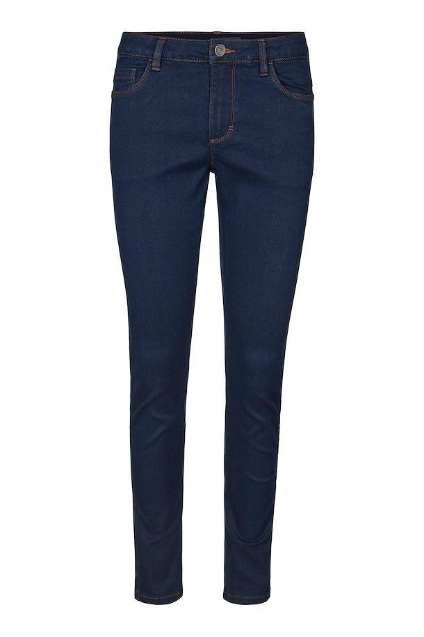 Kaffe slim fit dark blue jeans