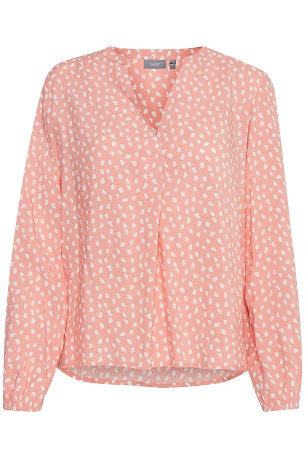 B Young pink blouse