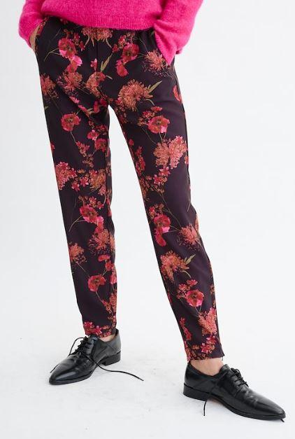 InWear floral print casual pants
