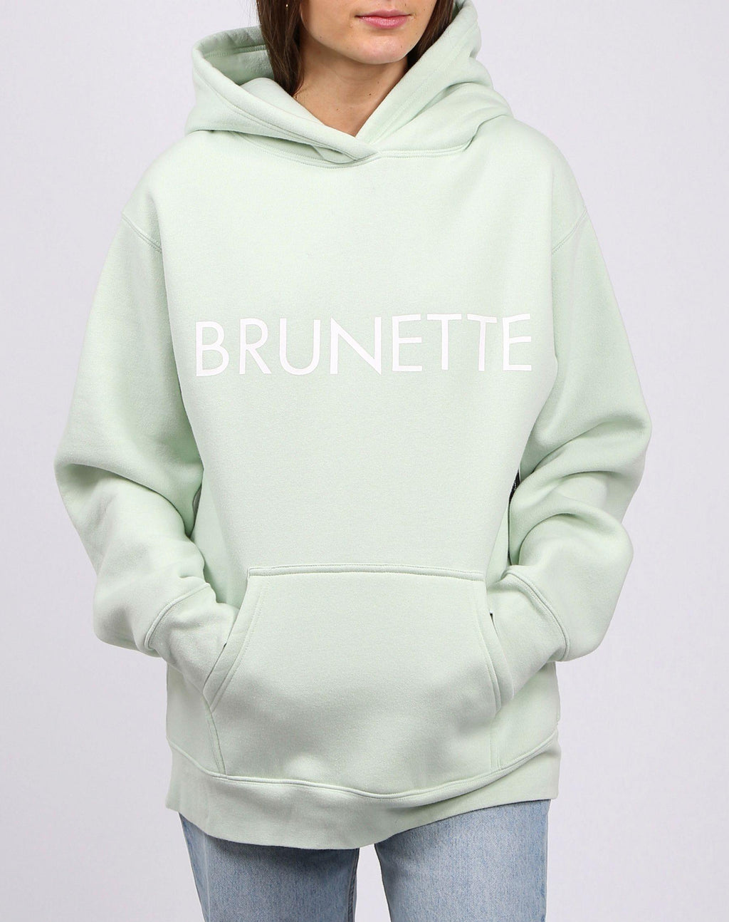 "Brunette the Label ""BRUNETTE"" Classic Hoodie 