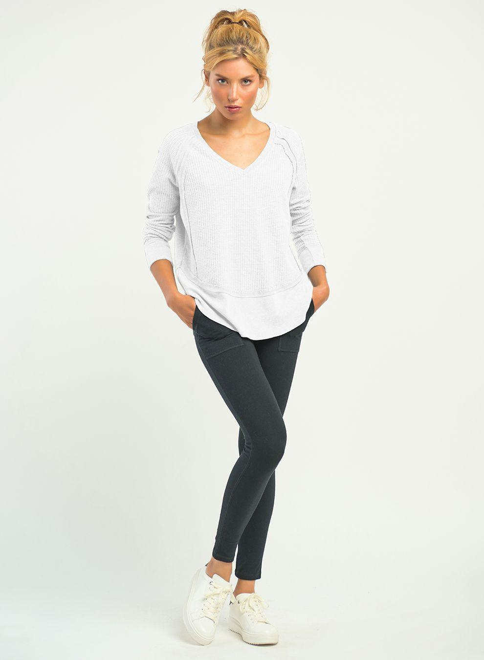 Dex pocket legging - black