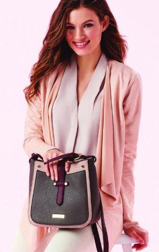 Charlie Paige blush cross body