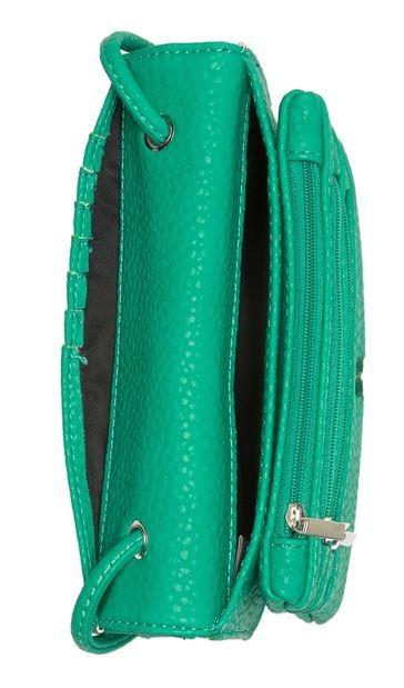 Co-Lab jungle green cross body carryall