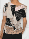 Ichi natural multi print top