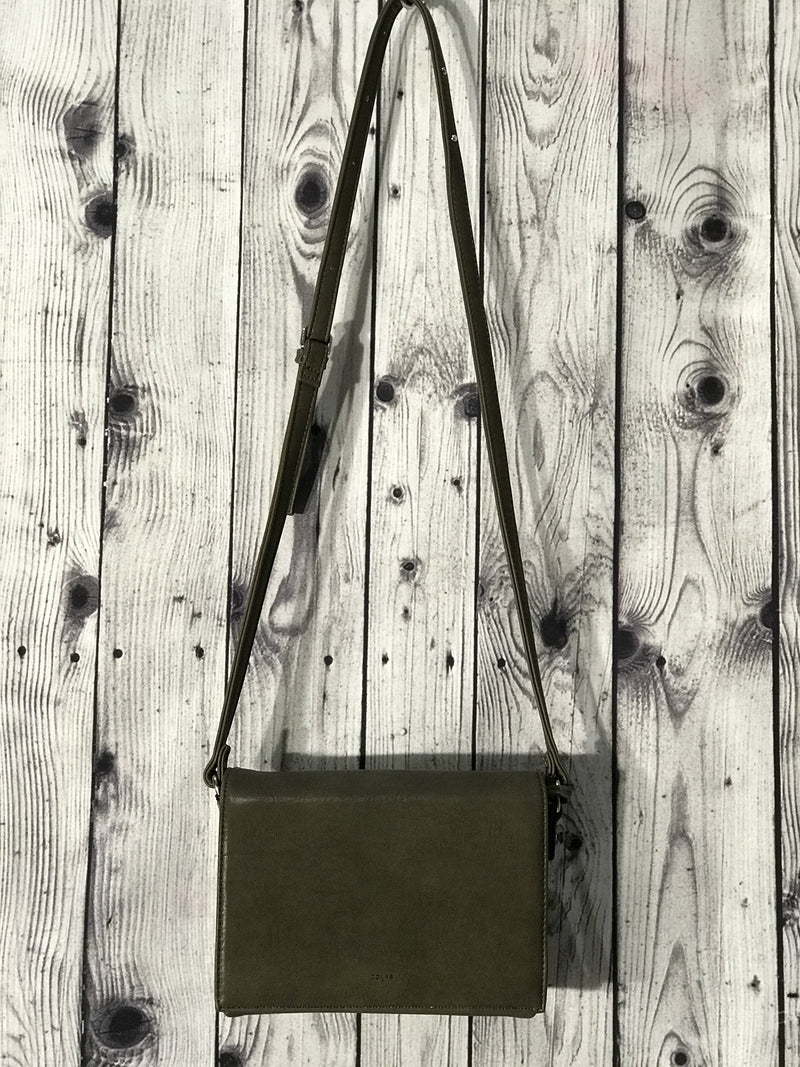 Olive Fold over bag by CO LAB