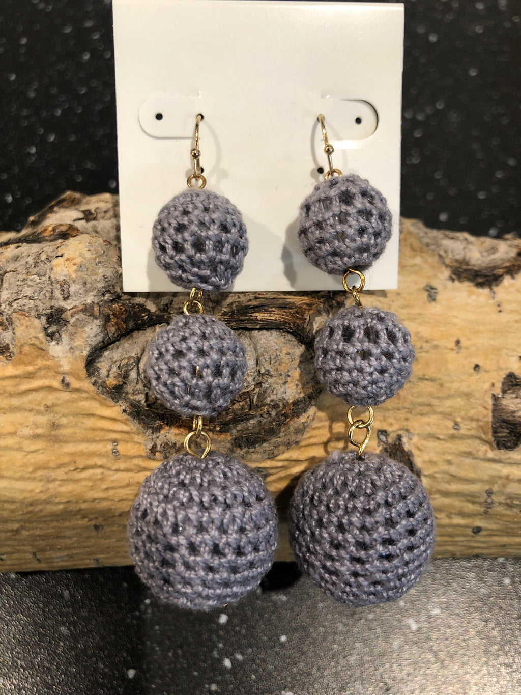 Garbo Multi Balls Drop Earrings