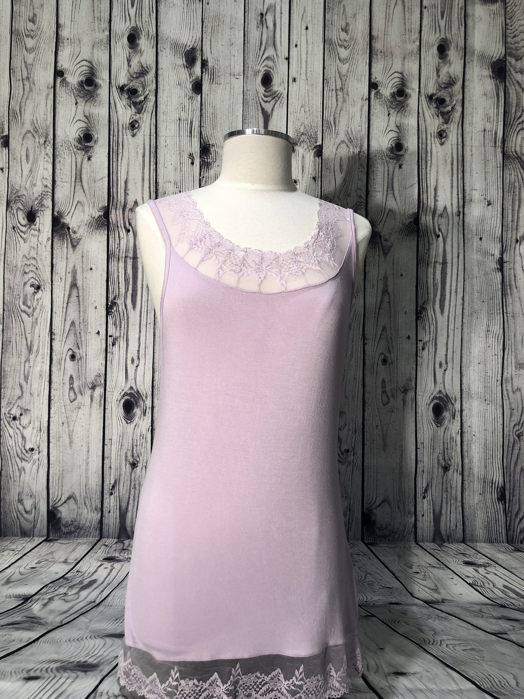 Cream lavender florence top