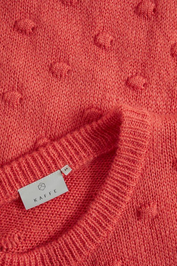 Kaffe living coral knitted pullover
