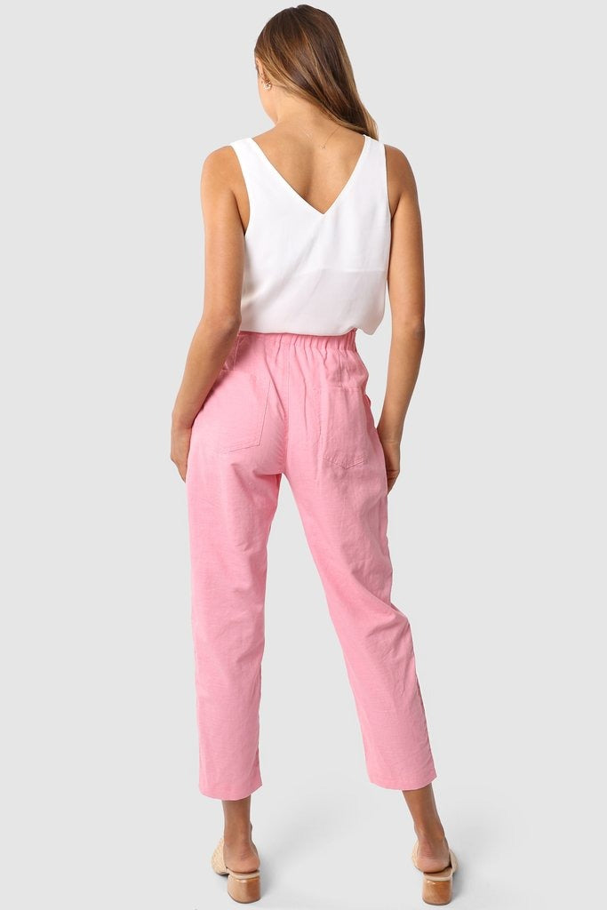 Madison the Label Kai candy pink pants