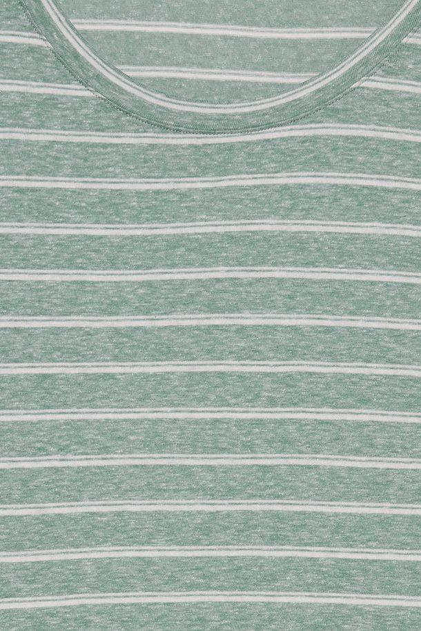 Ichi malachite green stripe t-Shirt