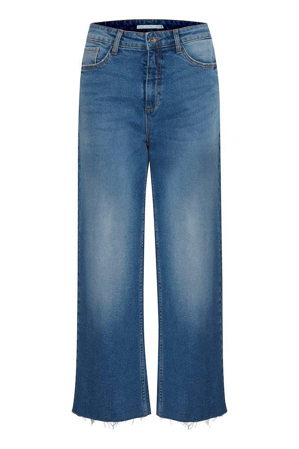 B Young medium blue denim jeans