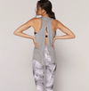Spiritual Gangster Heather Grey Dream Tie Back Tank