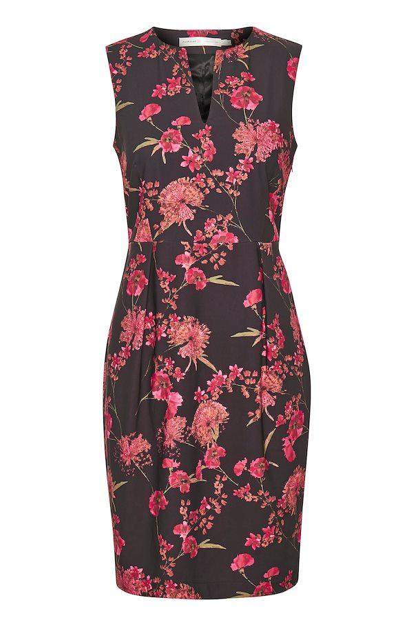 In Wear pink petunia floral dress