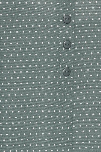 Ichi North Atlantic Jersey Dress W/ Dots