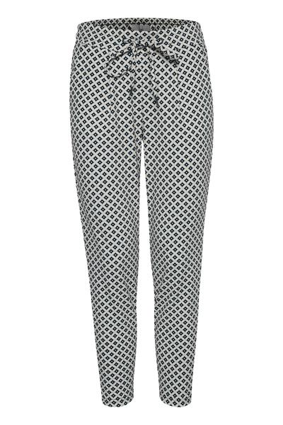 Ichi total eclipse pull on print pant