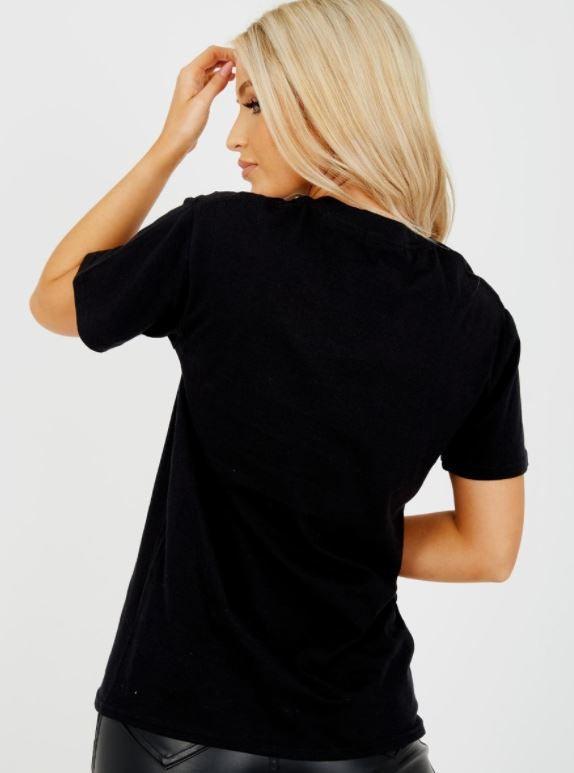 Reckless Angel Tee - black