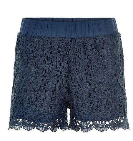 Kaffe navy lace short