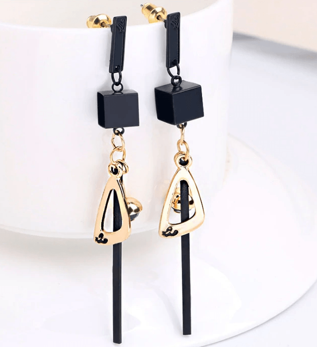 Geometric Triangle Fashion Earrings
