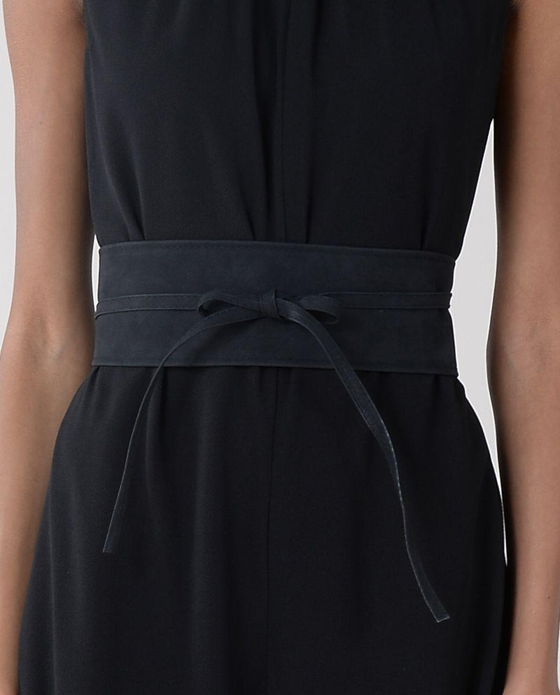 Molly Bracken Large Belt To Tie - black