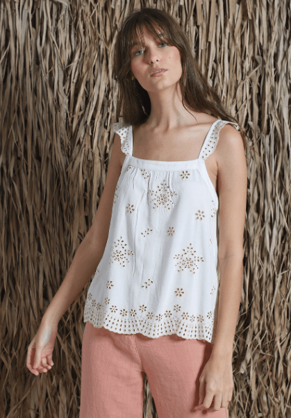 Indi & Cold combined natural tank top