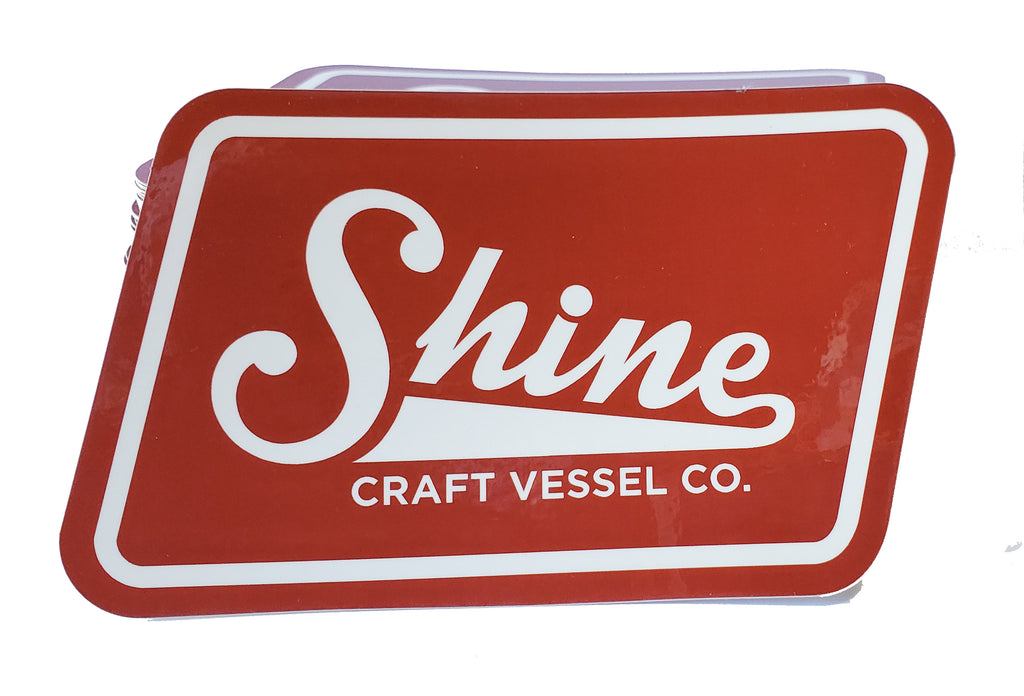 Shine Logo Sticker
