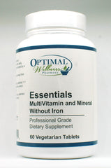 Essentials (Multi Vitamin & Mineral / No Iron)