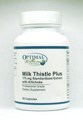 Milk Thistle Plus (175mg Standardized Extract with Artichoke)