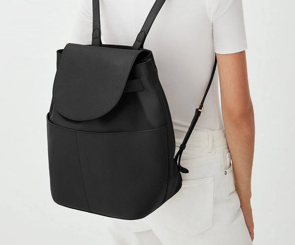 Best Leather Backpack for Women: Cuyana Leather Backpack