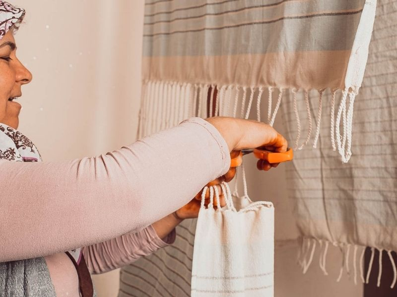 Caring for the Tassels on the End of Your Turkish Cotton Towels