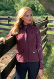 Spurs & Chains Quarter Zip, Raisin