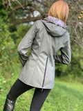 Waterproof Rain Jacket, Gray