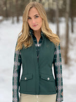 Softshell Vest, Forest
