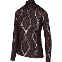 Waving Reins Quarter Zip, Black