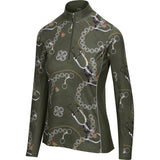 Spurs & Chains Quarter Zip, Moss