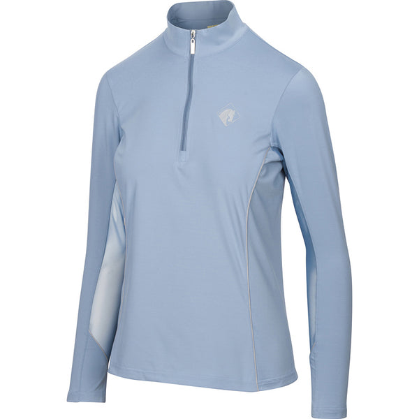 Long Sleeve Quarter Zip, Morning Mist
