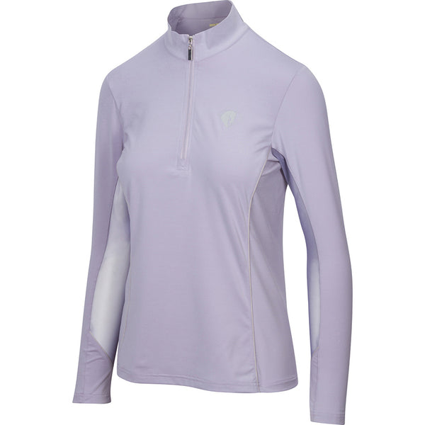 Long Sleeve Quarter Zip, Lavender Haze