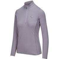 Arista Equestrian Long Sleeve Performance Quarter Zip Lavender