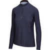 BrioTek 200 Quarter Zip in Midnight (3024)