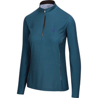 Solid Quarter Zip, Marine