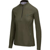 BrioTek 200 Quarter Zip in Moss  (3024)