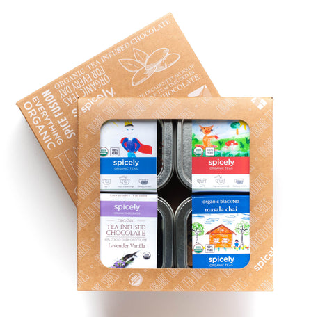 Gift Box: Fan Favorites Tea & Chocolate